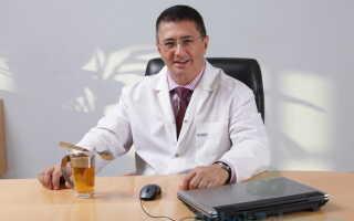 Профессиональное мнение доктора Мясникова о грибке ногтей