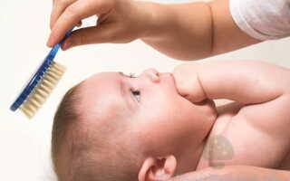 Заболевание себорея в раннем возрасте у детей на коже головы