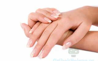 Разрушение ногтевой пластины в следствии микоза ногтей