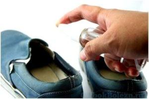Обувь при грибке