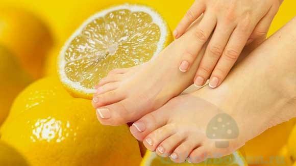 Лечение ногтей лимоном