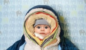 Тёплая одежда ребёнка