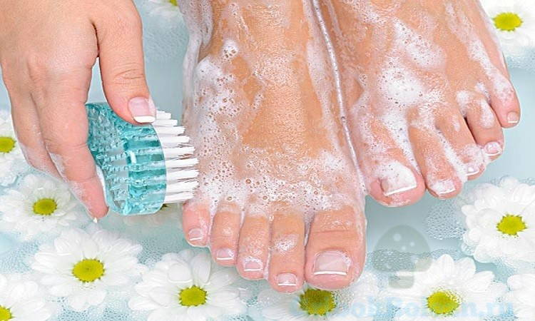 чистота ног